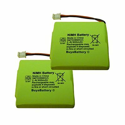 2 x New Replacement Batteries for BT Verve 450 and 410 Cordless Phones 5M702BMX