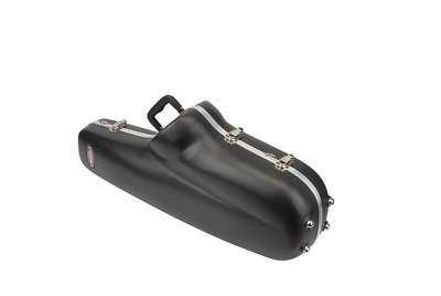 SKB Contoured Tenor Sax Case Perfectly Includes Neck And Mouthpiece Bag (Black)