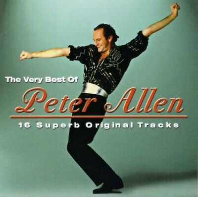 PETER ALLEN The Very Best Of CD Australian Pressing - Greatest Hits