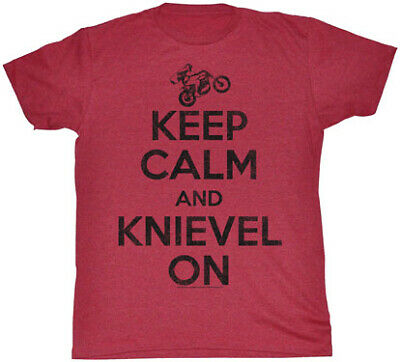 EVEL American Classics Apparel Keep Calm T-Shirt Sm EK566-SM