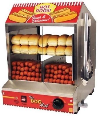 Hot dog steamer, hot dog machine, paragon hot dog steamer, commercial, USA MADE