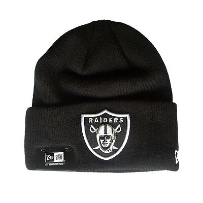 Oakland Raiders Officially Licenced NFL Cuffed Knit Hat