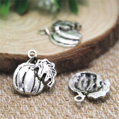 15pcs pumpkin charms Antique Tibetan silver pumpkin Charm Pendant 20x20mm