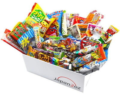 NEW! 40 PIECE JAPANESE CANDY SET SEPTEMBER Box Sweets Snacks Drink FREE AIRMAIL