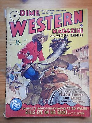 Dime Western magazine with Western Rangers 1950