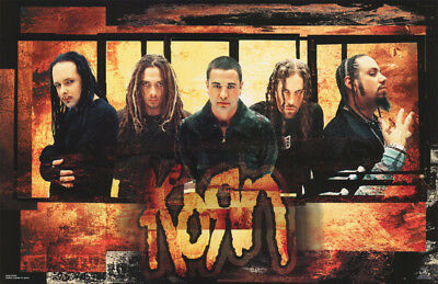 Lot Of 2 Posters: Music: Korn - Rough Edges  Free Shipping !!   #6233    Rc38 X