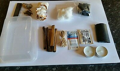 traditional flint and steel fire lighting kit