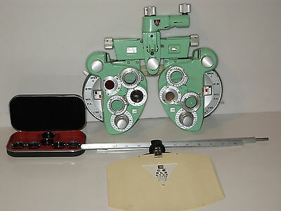A. O. Rx Master Phoroptor MINUS Cylinder with accessories