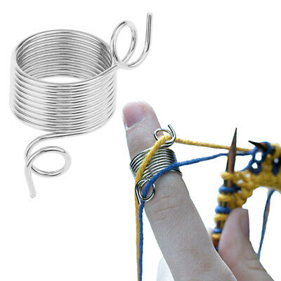15mm Metal Wire Yarn Stranding Guide Knitting Thimble for Knitting Craft