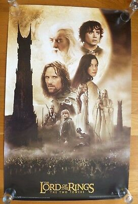 Lord of the Rings The Two Towers 2002 Movie Poster Funky Ent.  #3570