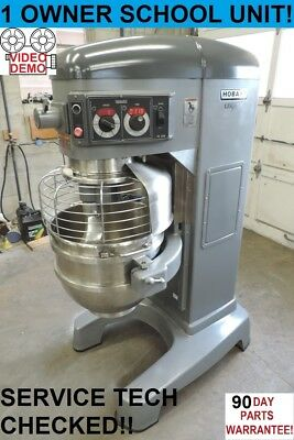 Hobart HL600 Legacy Single Phase 60 Qt Quart Commercial Bakery Pizza Dough Mixer