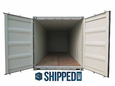 WE DELIVER SHIPPING CONTAINERS in FLORIDA 20' NEW SECURE HOME / BUSINESS STORAGE