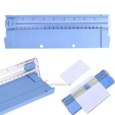 A5/A4 Precision Paper Card Trimmer Ruler Photo Cutter Cutting Blade Office Kit