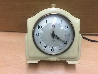 Artdeco vintage antique smiths smith clock bakelite smiths sectric