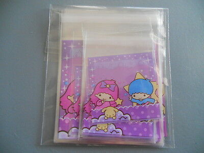 65 Sanrio Little Twin Stars Small & Mini Plastic Self-Adhesive Gift Bags