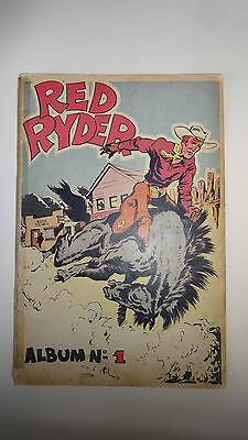 BD  Red Ryder - Album N°1 - EO. 1948 -BE- Harman Fred