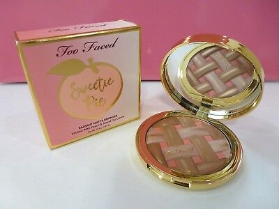 Too Faced Sweetie Pie Radiant Matte Bronzer Infused with Peach & Sweet Fig Cream