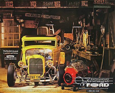 1932 Ford Deuce Coupe From The Movie American Graffiti Poster