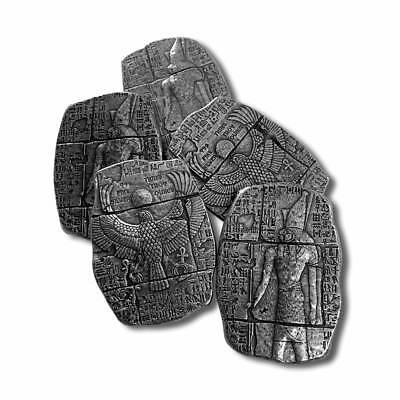 3 oz Fine Silver Relic Bar - Old World Egyptian Falcon God Horus - IN - STOCK!!