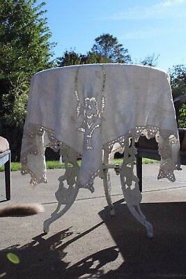 Beautiful Antique Tablecloth