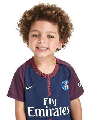 Nike Paris Saint-Germain FC Home Kids Kits Shirt + Short 17-18 SEASON 5-16 Ages