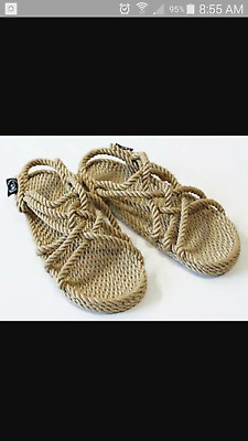 Nomadic Rope Sandals - Camel - Vegan-Unisex - Fair Trade - Hippie