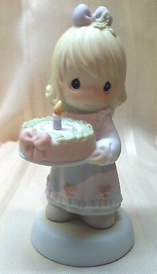 Precious Moments Happy Birthday Dear Jesus CAKE 272523 '87 MINT No Box