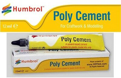 Humbrol Poly Cement - 12ml Tube
