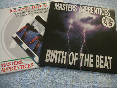 The Masters Apprentices X2 Picture  Covers -7'' 45 Rpm