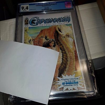 Cavewoman: Prehistoric Pinups #5, Nude Variant Cover, CGC Graded 9.4