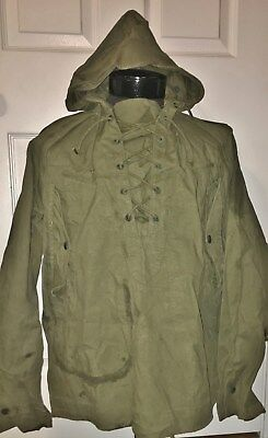 Original - WWII / Korean War - US Army Wet Weather Parka - US Military Issue
