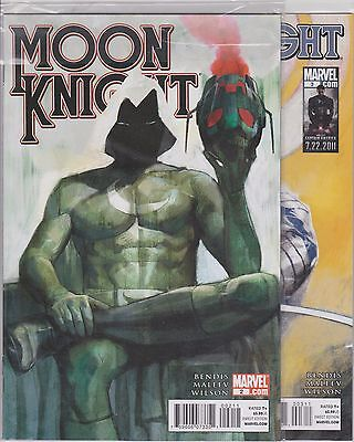Moon Knight #2 -6, 10-12  - All in 9.6-9.8 condition