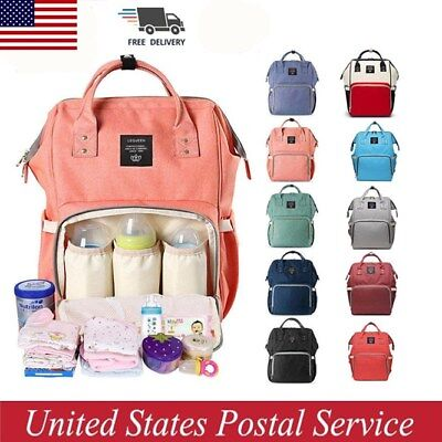 Mummy Maternity Nappy Diaper Bag Large Capacity Baby Changing Travel Backpack