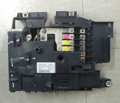 2010-2015 Porsche Cayenne 958 Power Distribution Relay Fuse Box / 7P0937548H