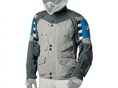 Bmw Rallye Jacket Gray/blue Size 56Eu/46Us New With Tags! Pn# 76118560543