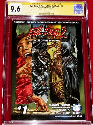 CGC SS Evil Dead 2: Tales of the Ex-Mortis # 1 signed by SAM RAIMI  ~RARE~ 9.6!