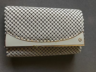 Glomesh Key Case Vintage Beige Bone Cream Original Price Tag Like New Cond **