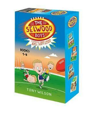 The Selwood Boys Box Set (Books 1-4) by Tony Wilson Hardcover Book