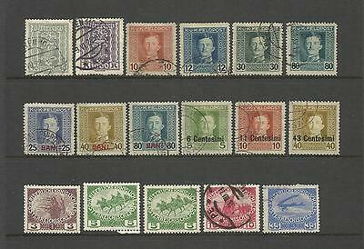 Austria Osterreich ~ Small Early Collection On Stock Pages (Used)