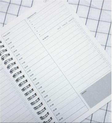 KRAFT Double Spiral Schedule Book Timetable / Important List / To do List / Memo
