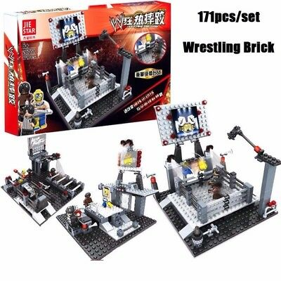 WWE Wrestling Lego Stackdown Ring New Figure Toy Building