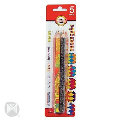 Koh-I-Noor Magic Pencils  5 Pack 3405BL