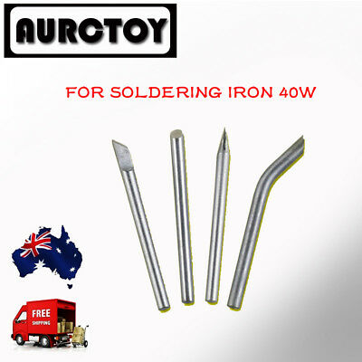 4in1 SOLDERING IRON Tip 40W Lead Free for Remote control CAR PLANE TOY WS  AU
