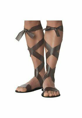 82f84d9b1ee7 California Costumes 60368 Adult Roman Sandal (Brown One Size)