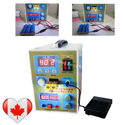 CA!LED Double-Pulse Spot Welder 18650Battery Charger 800A 0.1-0.2mm High Quality