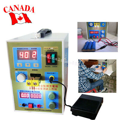 From CA! LED Dual Pulse Spot Welder Welding 18650 Battery Charger 800A 0.1-0.2mm