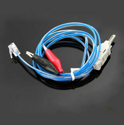 RJ11 Professional Telephone Test Wire 3 Ports Test Clip Voice P-Wire