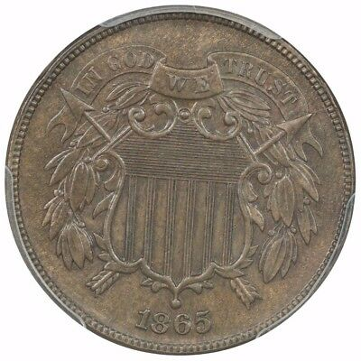 1865 Two Cent PCGS MS64BN