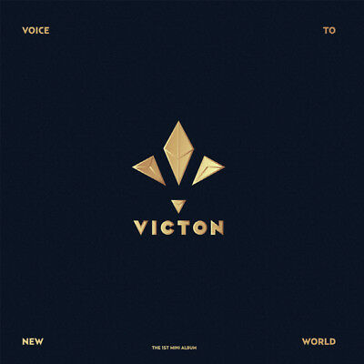 VICTON [VOICE TO NEW WORLD] 1st Mini Album CD+Photo Book+2p Card K-POP SEALED