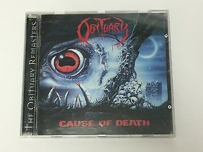 Obituary - Cause Of Death (12 Track CD) The Obituary Remasters